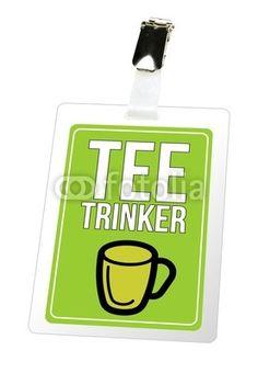 Teetrinker - Ausweis, Pass, Tee, Fotolia