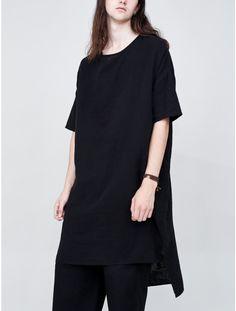 OAK Wide Dress Woven Black