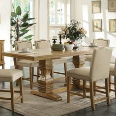 Wildon Home ® 7 Piece Dining Set & Reviews | Wayfair
