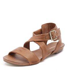 Shop Jobby Tan by Django & Juliette. Women's & men's shoes with of styles to choose from. Women's Shoes Sandals, Leather Sandals, Flats, Latest Shoe Trends, Shoes Online, Tan Leather, Pairs, My Style, Tropical Prints