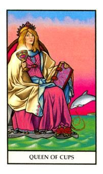 January 28 Tarot Card: Queen of Cups (Connolly deck) Your intuition is impeccable now. Follow the guidance of your instincts and your heart to make decisions and move forward