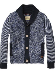 A Christmas knit is an essential and this Scotch Shrunk knitted cardigan is perfect! #kidsfashion www.circuslondonpr.com