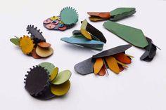 Yuko Fujita: Garden Brooches