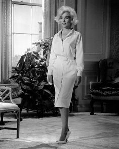 Costume test for 'Something's got to Give' (1962) - Mastering Marilyn