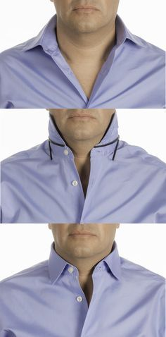 Solve your four collar problems with Collar Shaper. Works with Polo, Casual, Button down and Dress shirt. Eliminate Sloppy collar, Open collar, Wrinkled placket shirt and Lack of collar shirt support. Don't miss out 10% discount (code Pint10)