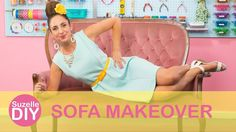 How to Make-over your Sofa | SuzelleDIY