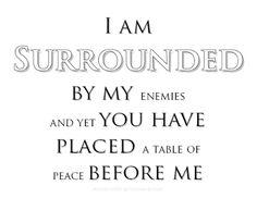 ~Table Of Peace~ #randomthoughtsofaservant