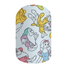 Heigh-Ho - Disney Princess Snow White and The Seven Dwarfs 'Heigh-Ho' in this fairytale-inspired nail wrap. #DISNEYHEIGHHO