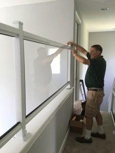 Railings | Child Safety | Child Senior Safety : Custom Plexiglass Installation in Orlando