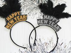 New Year's Eve (Free!) Printable Headband - The Key Item #party #decor #props