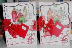 Stampin up A Christmas Carol