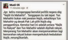 The Sense, Credibility and Accountability: MINDA penCACAI yang diBELA oleh Najib - Sentiasa I...
