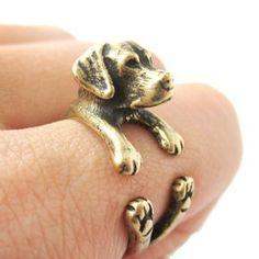 Lucky the Labrador - Ring