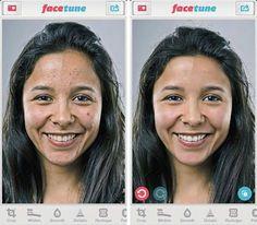Entre la edición de fotos y la cirugía plástica. ¿Qué es Facetune? Conocela en esta nota http://www.cromo.com.uy/2015/04/la-cirugia-de-las-selfis/