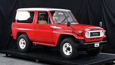 HZJ73V-PNU PX10 Japan Motors, Heritage Museum, Land Cruiser, 4x4, Automobile, Autos, Japanese Engines, Car, Motor Car