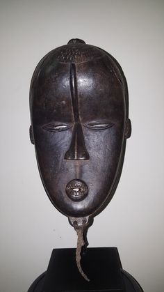 Bete Mask, ivory coast African Masks, Ivory Coast, Headdress, Mascaras, Masks, Africa, Kunst, Fascinators, Headpiece