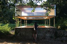 HANGOVER bar is a temporary, auto-constructed, low budget bar for Ignition festival - an intergalactic encounter to celebrate music, architecture and nature. Nuno Pimenta, José Campos · Hangover · Divisare