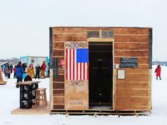 This art shanty town is one of my favorite things that I've ever been to! Such an innovative event!