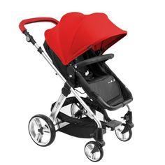 Wózek Zuma Kids Solution 2w1, Czerwony