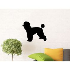 Dog Wall Decals Grooming Salon Pets Pet Shop Home Interior Sticker Decal size 22x26 Color