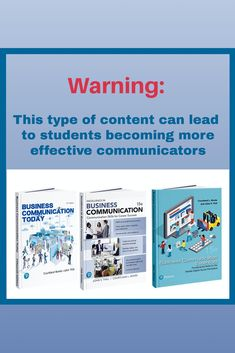 Help your students become more effective communicators! Business Essentials, Career Success, Textbook, Insight, Communication, Students, Author, Classroom, Content