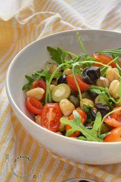 JA U KUHINJI...: Obrok salata sa leblebijom