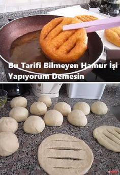 #hamurişi #börek #pişi #food Bread Shaping, Turkish Kitchen, Turkish Recipes, Homemade Beauty Products, Bread Recipes, Bakery, Food And Drink, Meals, Cooking