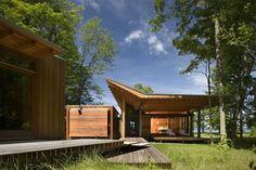 Bohlin Cywinski Jackson  Combs Point Residence  Finger Lakes, New York
