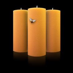 PACK de 3 Super Totems Rolling Candles The 100% Natural Rolling Candles! #candles #Beeswax