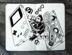 Conheça o projeto de 365 ilustrações de Gabriel Picolo. | ::Tutoriais Photoshop::
