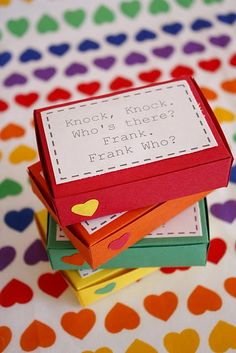 Really cute Valentines idea for kids