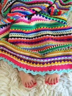 couverture coloré pour votre divan