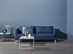 Bilderesultat for blå sofa inspirasjon