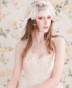 唯美新娘造型 - 長髮配頭飾