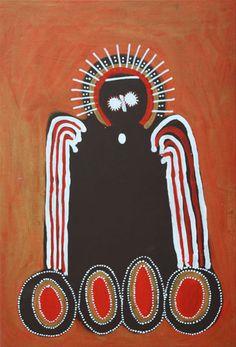 Jack Dale ~ Gularu Boss Wandjina, 2007