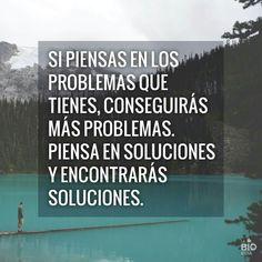 Piensa en soluciones