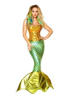 Siren of the Sea Costume | Mermaid Costume, Fancy Costume, New Costume