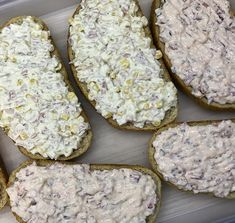 Canapes, Meat Recipes, Sandwiches, Bakery, Cheese, Cookies, Breakfast, Foods, Crack Crackers