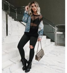 Best Womens Outfits For Going Out Jeans Night Out 54 Ideas Bar Outfits, Edgy Outfits, Night Outfits, Cute Outfits, Fashion Outfits, Vegas Outfits, Church Outfits, Fashion Hacks, Fashion Clothes