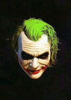 Joker - Heath Ledger in the new Batman series. he was feral and magnificent! O Joker, Joker Pics, Joker Art, Joker And Harley Quinn, Joker 2008, Comic Books Art, Comic Art, Kings & Queens, Dc Comics