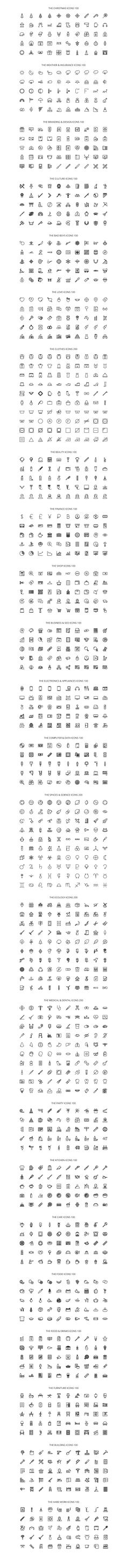 The Icon Bundle 2800 by The Store on @creativemarket