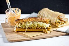 The Philly Reuben Sandwich #vegan | Keepin' It Kind