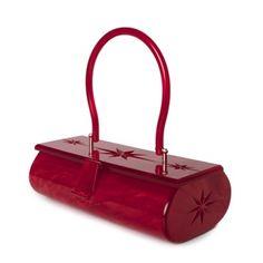 A work of art.Lucite handbag from the or Vintage Luggage, Vintage Purses, Vintage Bags, Vintage Handbags, Vintage Outfits, Vintage Clothing, Purses For Sale, Purse Sale, Unique Purses