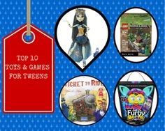 2013 Holiday Gift Guide: Top 10 Toys & Games for Tweens Holiday Gift Guide, Holiday Gifts, Tween Games, Promote Your Business, Business Website, Web Design, Gift Ideas, Holidays, Toys