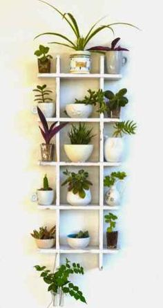69 impressive indoor vertical garden decor ideas In order to have a great Modern Garden Decoration, it is beneficial to … Balcony Garden, Herb Garden, Home And Garden, Wall Garden Indoor, Smart Garden, Easy Garden, Plant Wall, Plant Decor, Indoor Gardening Supplies