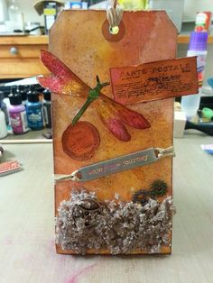 Tim Holtz 12 Tags of 2014 - July