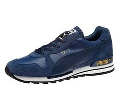 Puma TX-3 Leather Men's Shoes Insignia Blue White,HOT SALE!