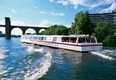 Sehen Sie die Sehenswürdigkeiten Stockholms vom Boot aus