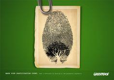 Greenpeace; Melissa Garlington: Visual Designer
