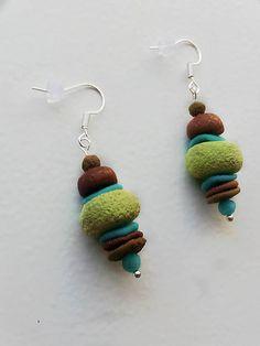 Polymer clay earrings KatikaZ / kk http://www.sashe.sk/KatikaZ  http://www.fler.cz/katikaz https://www.facebook.com/pages/Katika-Handmade-jewelry/611752618918894?ref=hl